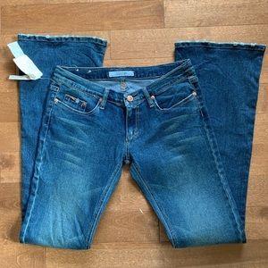 Joe's The Rocker Skinny Flare Jeans